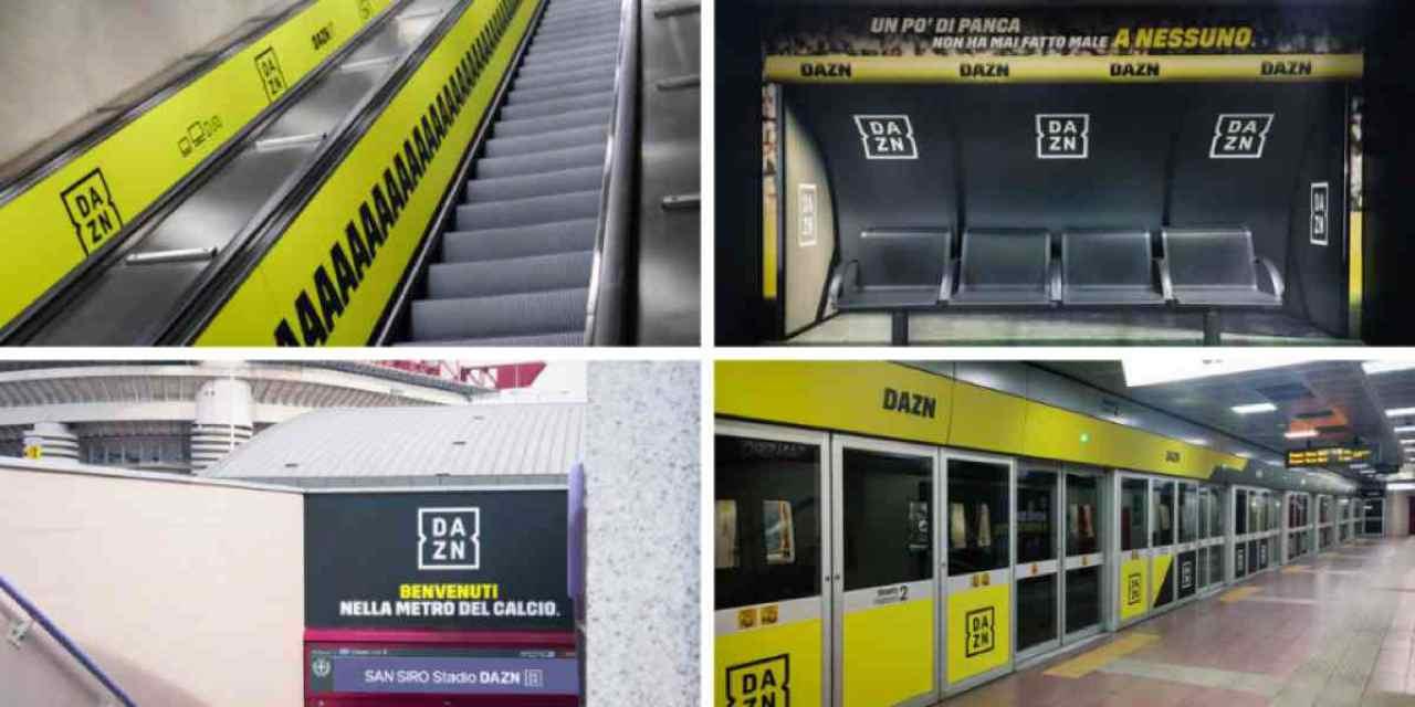 metro san siro dazn